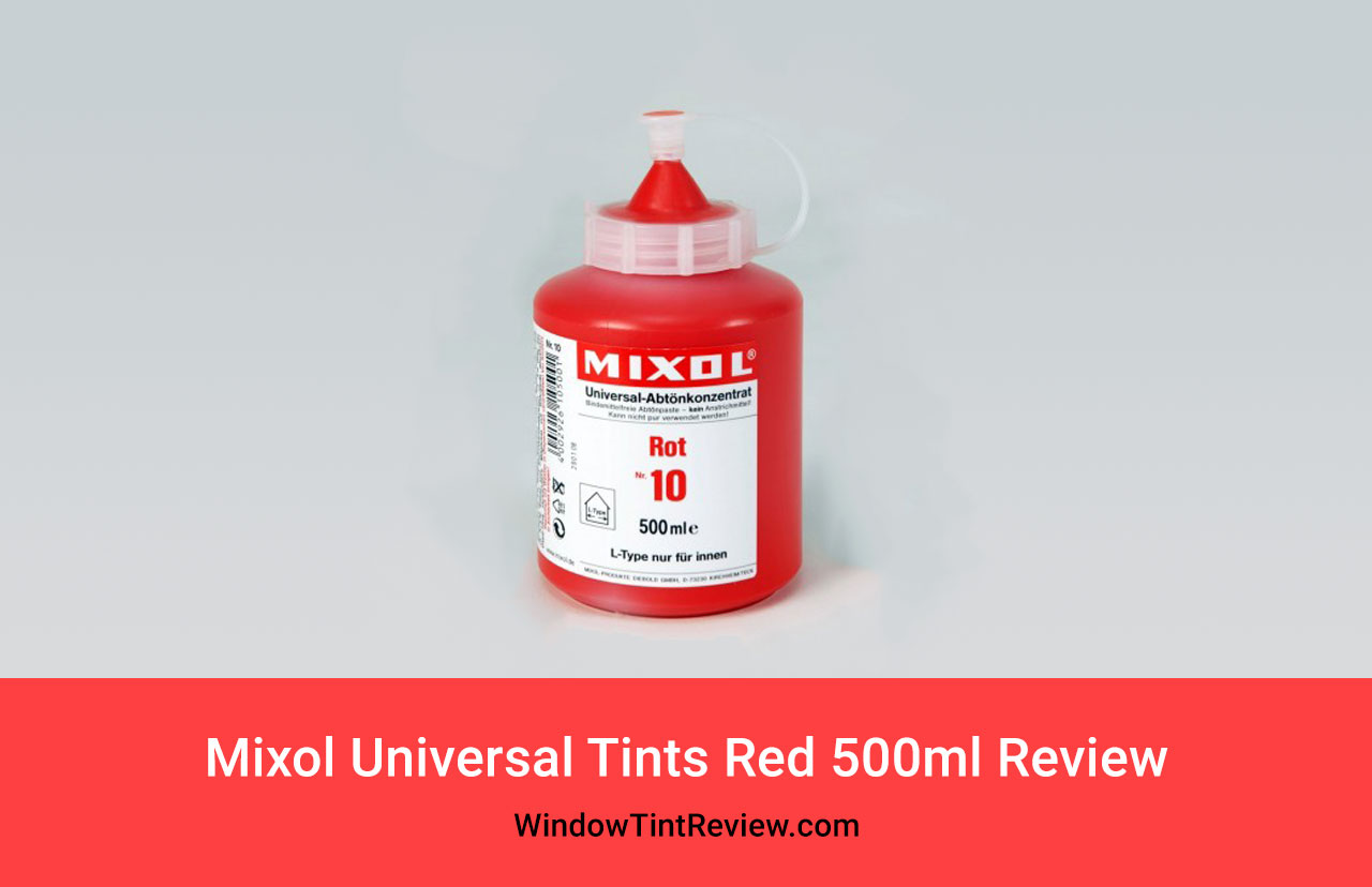 Mixol Universal Tints Red 500ml Review
